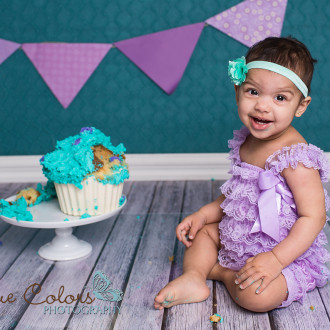 cake smash first birthday Abbotsford Langley Fraser Valley Photographer