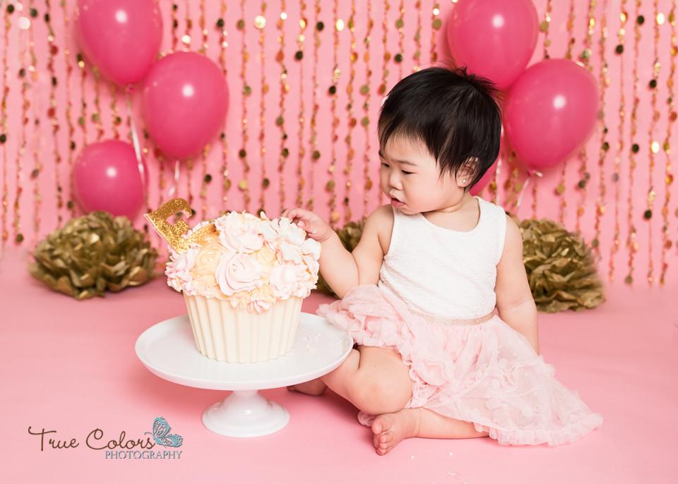 Cake Smash Abbotsford Photographer