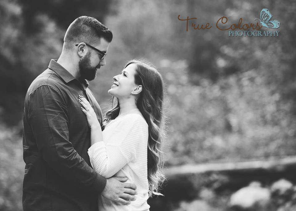 Abbotsford Wedding Photographer Engagement shoot Cascade Falls