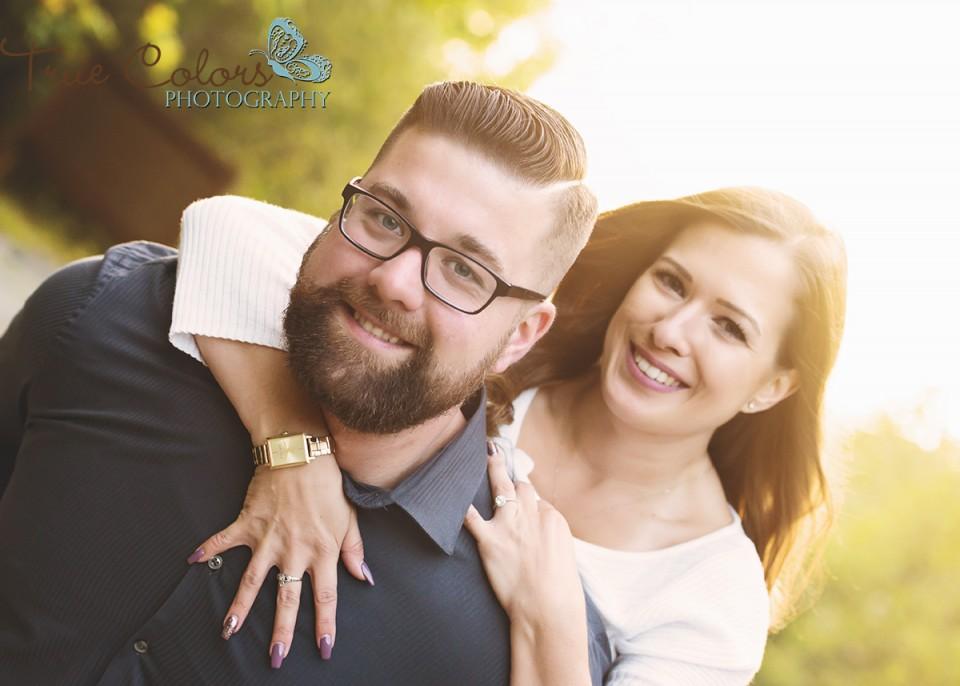 Abbotsford Wedding Photographer Engagement shoot Cascade Falls