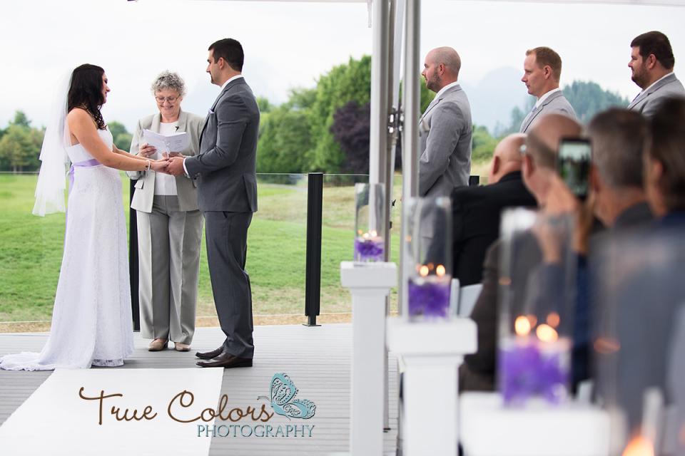 Maple Ridge Wedding Golden Eagle Golf Course
