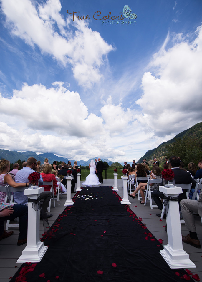 Fraser valley wedding Golden eagle golf course