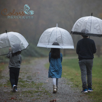 Children's photography Abbotsford Fraser Valley Douglas Taylor Park Rainy day